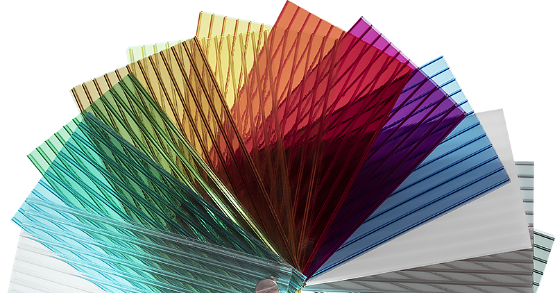 Multi-Wall Polycarbonate Color Samples